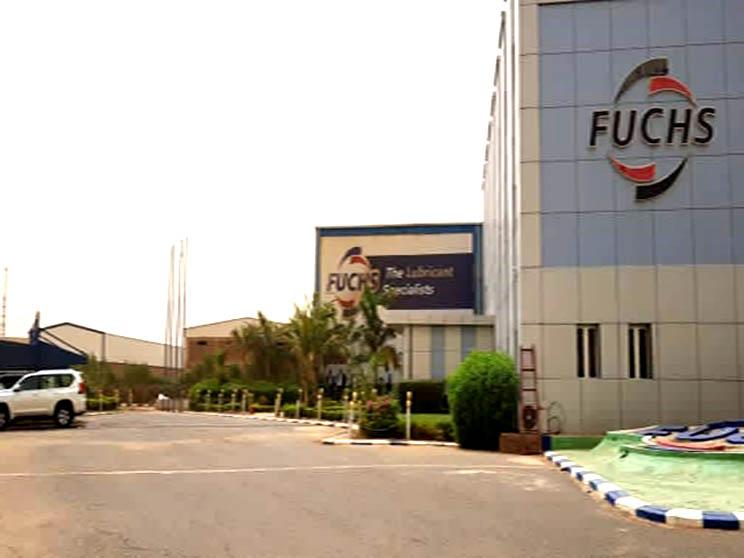 المبنى الاداري لمصنع زيوت فوكس - شركة بتروباش للانشطة المتعددة